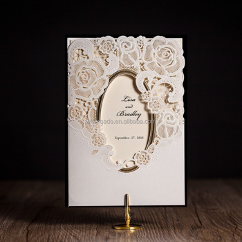 Wishmade card shanghai co ltd paper product cream white invitation card wedding birthday greeting paper crafts cw5185 stopboris Images