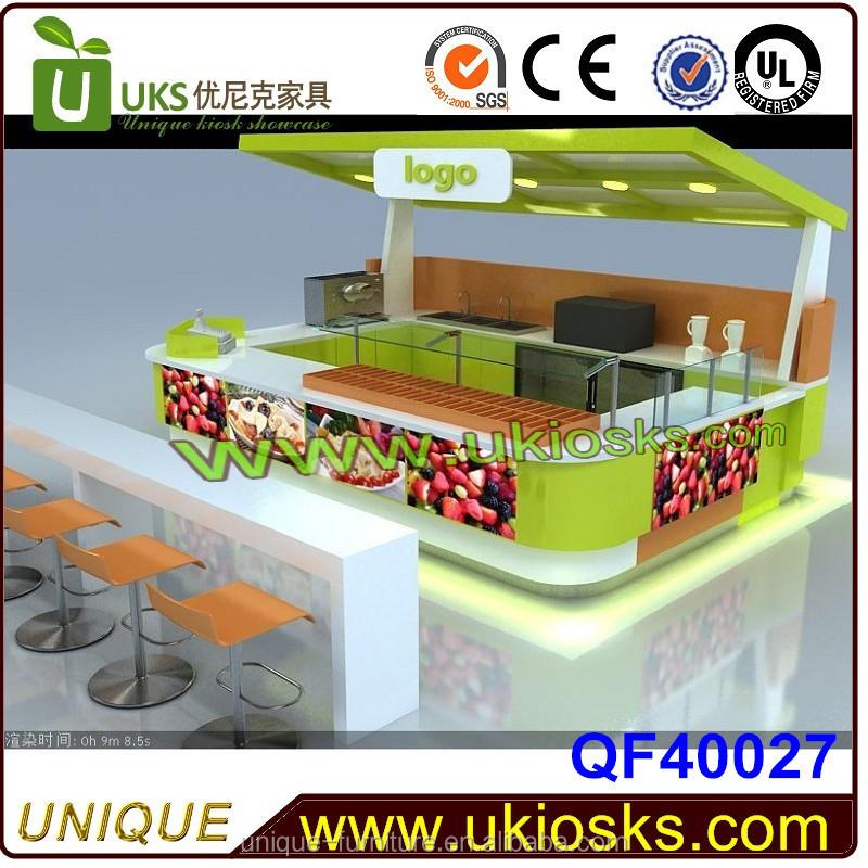 Top Nouveau Design Jus De Fruits Bar Kiosque Conception Bar À Jus  IV93