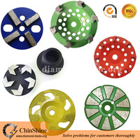 Quality Diamond Concrete Grinding Disc , Plate , Wheel for Floor Grinding