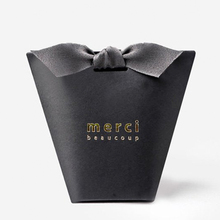 Merci Small 종이 <span class=keywords><strong>포장</strong></span> Tie <span class=keywords><strong>상자</strong></span> 호의 웨딩 Candy Gift box