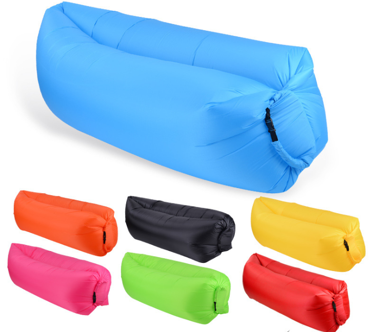 Aircouch 旅行屋外キャンプ Laybag 、大注目の製品旅行屋外ナイロン膨張怠惰なバッグ、 Airsofa