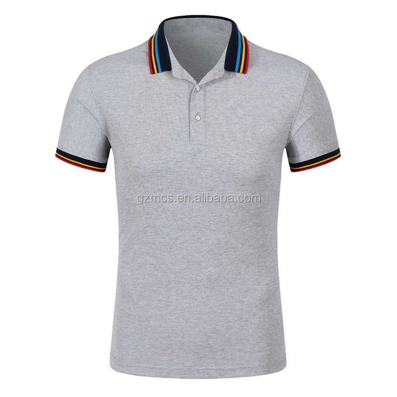 The new <strong>design</strong> of tie Customized high quality cotton polo shirts