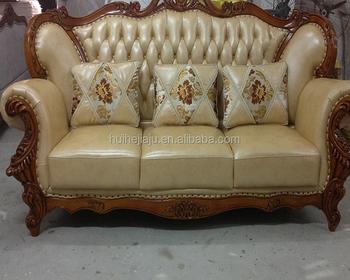 Custom Clical Design Leather Sofa Furniture China Set Genuine Price