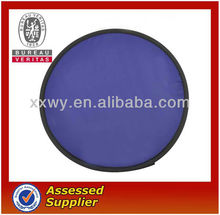 high quality fabric foldable frisbee/flying disc