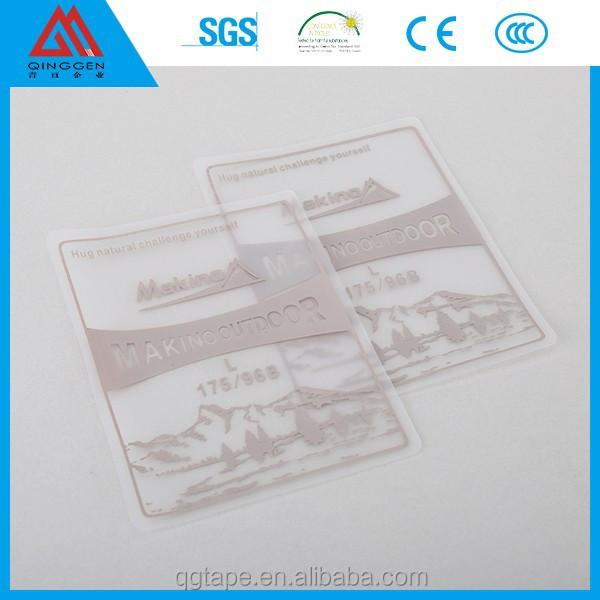 Garment label tpu thermoplastic polyurethane label