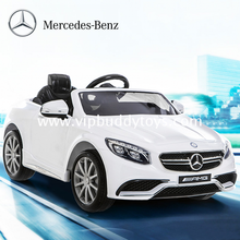 Hot sale reliable and cheap licensed ride-on mercedes benz kids car mercedes-benz electric