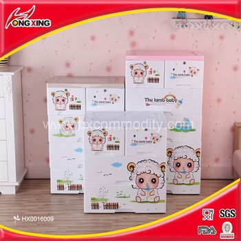 Cabinet Design For Clothes For Kids cartoon design cute animal printing plastic kids clothes cabinet