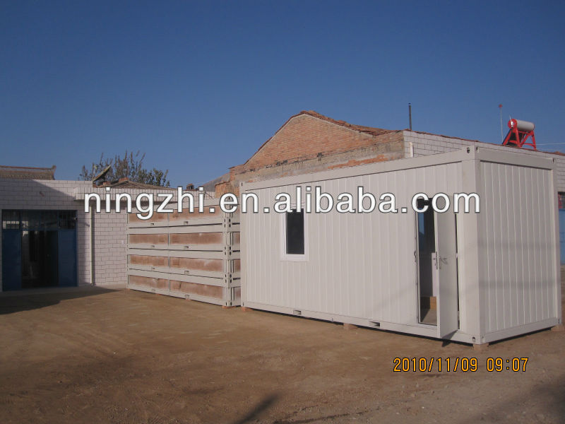 Flat pack container homes for America market