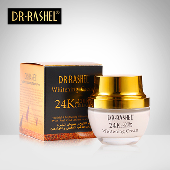 DR.RASHEL 24 K Gold Collagen Youthful Brightening Skin Whitening Cream