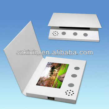 Blank white lcd greeting card video cards video book buy lcd blank white lcd greeting card video cards video book m4hsunfo