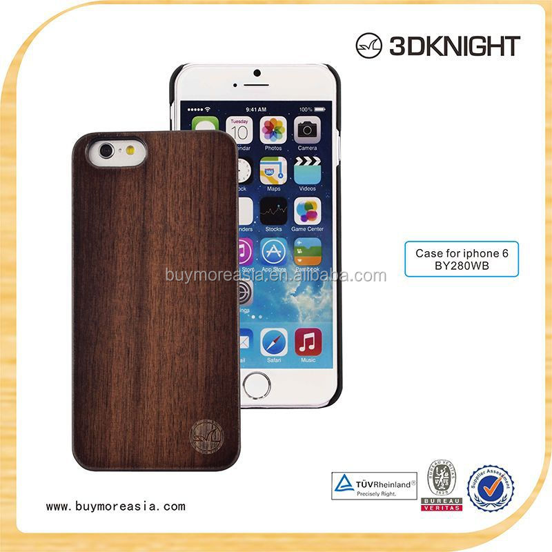 fashion wood cover for iphone 6 case, high quality mobile phone for England market