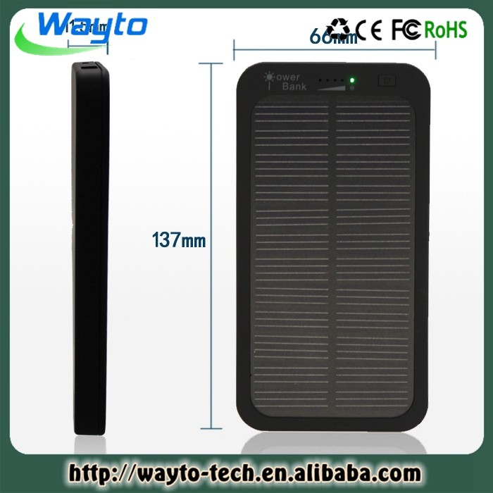 Made in China solar energy power bank for Sansung