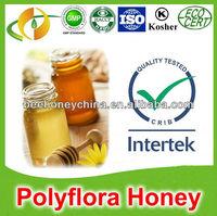 Certified organic multifloral honey