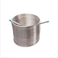 ISO certificate Heat resistence ERW 304 Stainless Steel Coiled Tubing and pipe