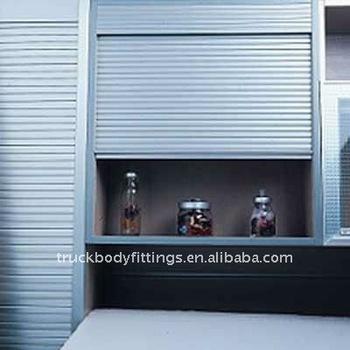High Quality Roller Shutter Aluminum Kitchen Cabinet Roll
