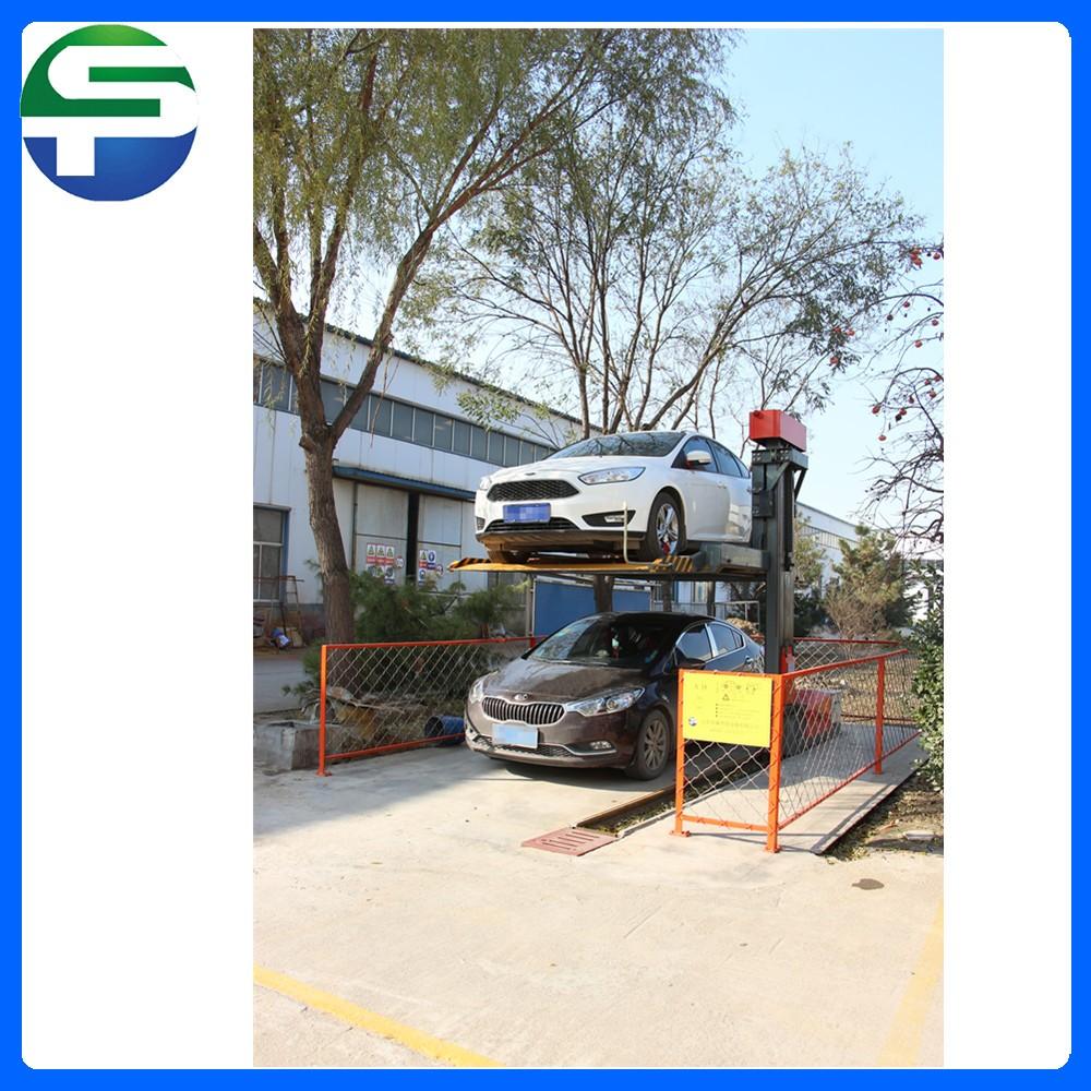 Single Post Hydraulic Garage Car Lift Car Lift Platform