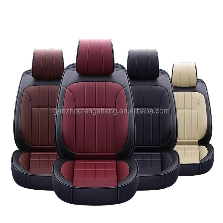 Mode-Trend Bestseller PU Leder Komfortable Universal Passt Für Alle Auto Sitzbezüge