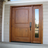 Outside Door Decorations Used Solid Wood Interior Doors