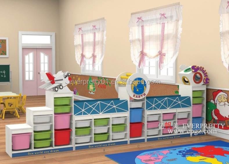 nieuwe stijl kleurrijke kinderen kind boekenkast voor kleuter en dagopvang