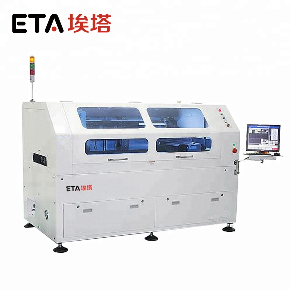 High-accuracy S08 Full Automatic LED SMD Screen Printing Machine,PCB SMT Stencil Printer with Solder Paste