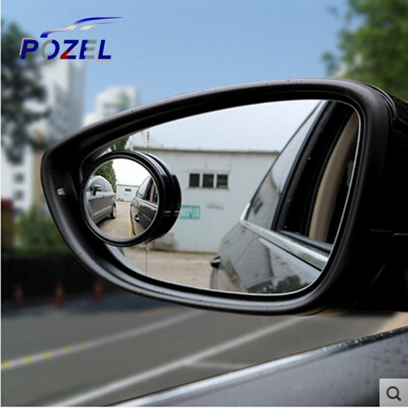 Водитель 2 сторона широкий угол круглый выпуклый автомобилей автомобиля слепое пятно авто зеркало заднего вида для BMW Audi Benz для форда Peugeot Citroen