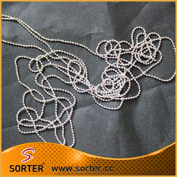 Copper Alloy Material Type And Unisex Gender1.5 mm Ball Chain