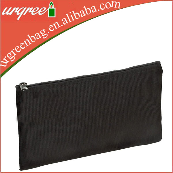 Wholesale white or black glitter cosmetics makeup bags