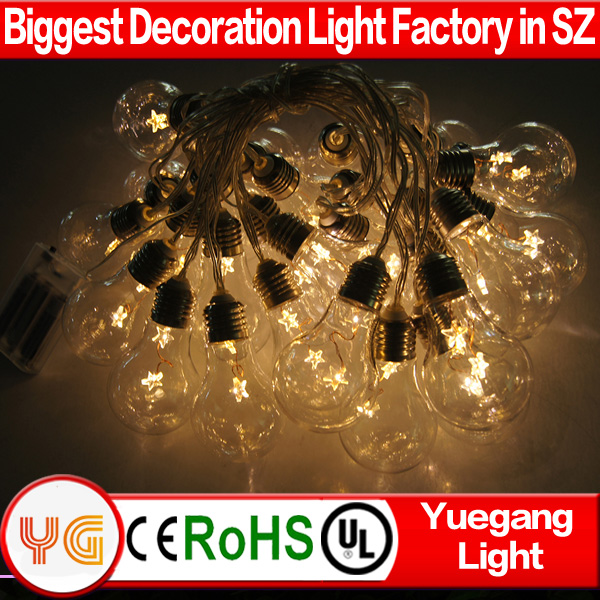 High quality Professional factory supply top quality Christmas led string lights with Edison bulbs