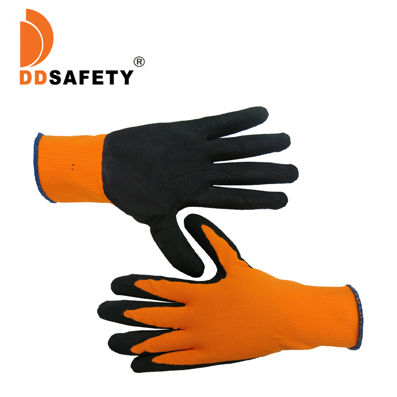DDSAFETY Alibaba China Atacado Nylon Liner Luva De Látex