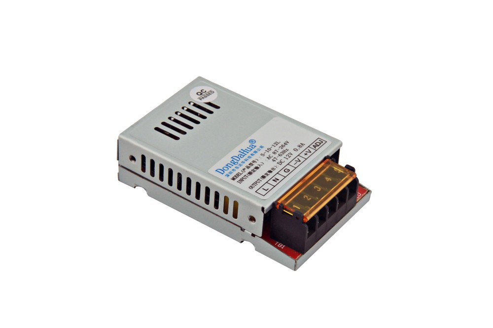 TUV Sale 10w 500 watt 12v 24v dc regulated meanwell switch power supplies