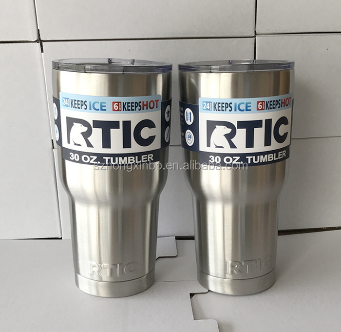 Hongxinbo Customized wholesale 30oz stainless steel rtic / sic / ozark trail tumbler vacuum insulated beer mug