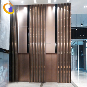 Stainless Steel Mirrored Backdrop Panel Wall