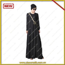 Fasion islamic muslim clothing embroidery printed flower design abaya