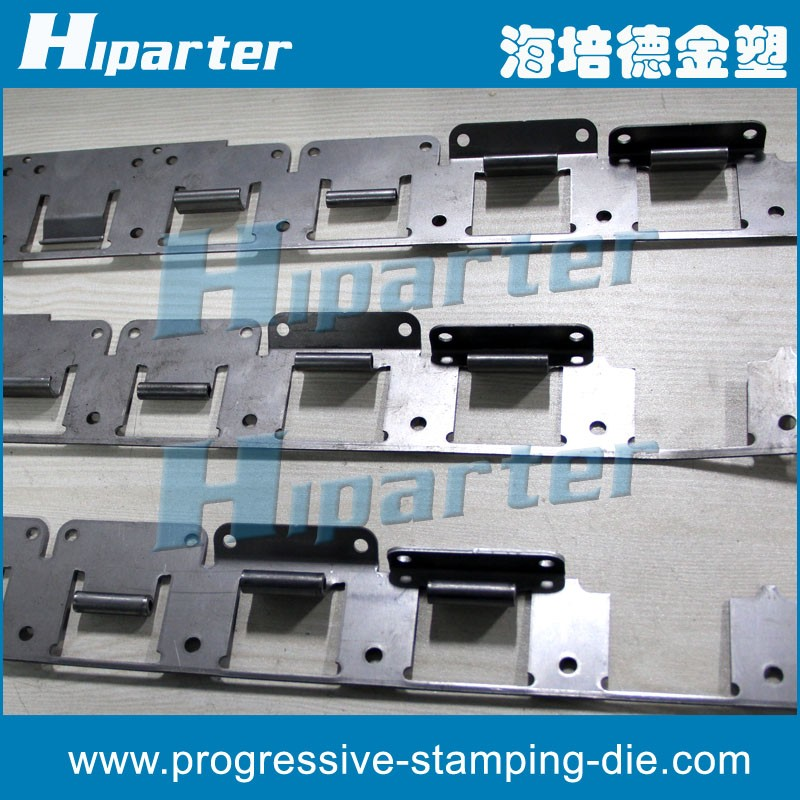 Stainless steel hinge stamping die and household cabinet hinge progressive stamping
