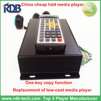 cheap hdd media player with one-key copy function,replacement of low-cost media player