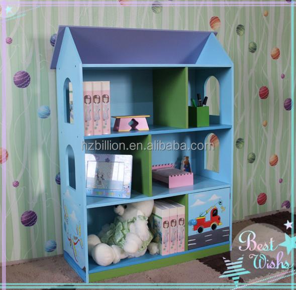 Kinderen Houten Poppenhuis Boekenkast Kinderen Meubels - Buy Product ...