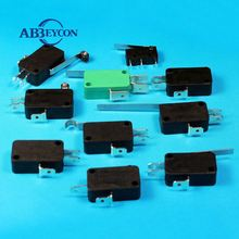KW-3A micro switch burgess micro switch Top Quality Types Of Micro Switches