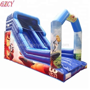 Commercial Cheap Giant Inflatable Slide/inflatable bouncer