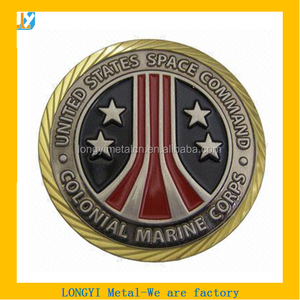 high quality coin for US colonial marine corps space command space command