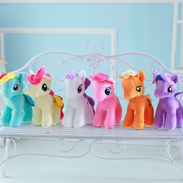 Crane machines lovely pony toys plush stuffed animal horse toys