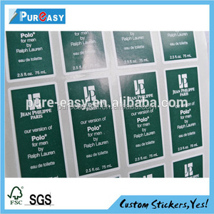 self adhesive labels sticker for fabric