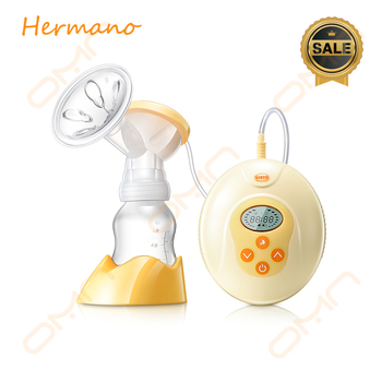 Breast pump electric high efficiency, cost-effective BPA free electric breast milk pump