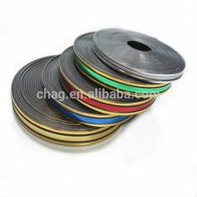 High Quality Well Fracture Strength Golden Plastic Chrome Trim Pvc Binding Strip