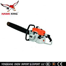 2017 hot selling stone wood cutting machine gasoline chain saw