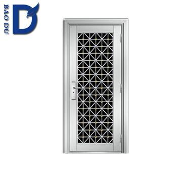 2016 security stainless steel indian main wooden doors for Latest door design 2016