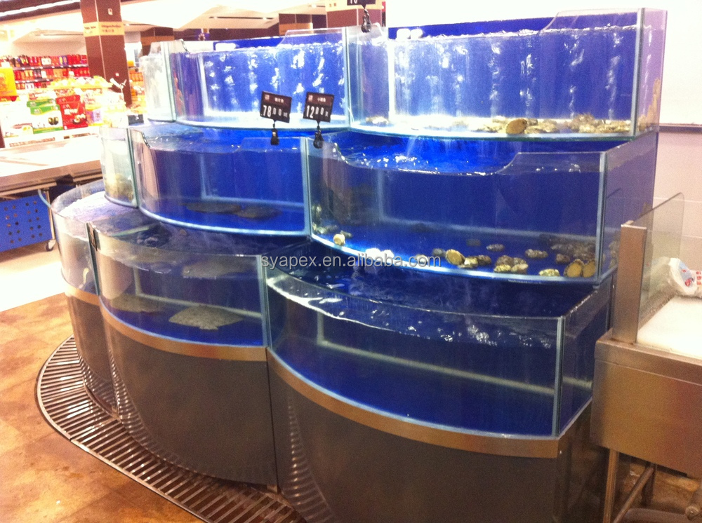 Apex Custom Make Supermarket Or Restaurant Aquarium Shop Rack ...