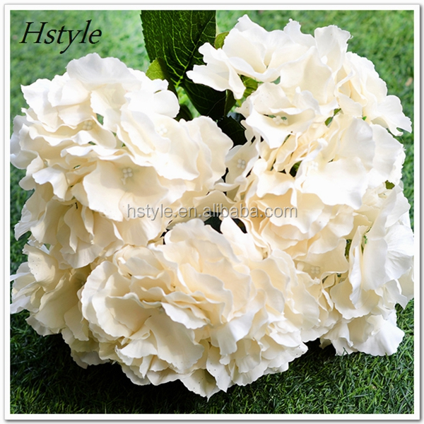 Beautiful 5 Heads Artificial Silk Flower Mallorca Bunch Bouquet Home Wedding Party Floral Hydrangea FZH141