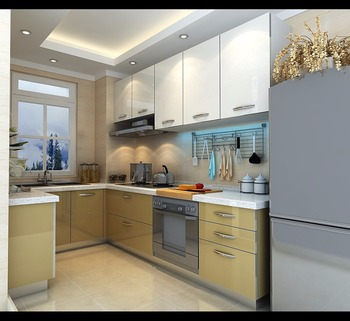 Country Style High Quality White Designs Of Kitchen Hanging Cabinets