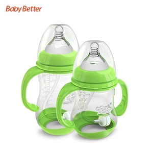 Baby products baby plastic bottle anti colic baby bottle holder