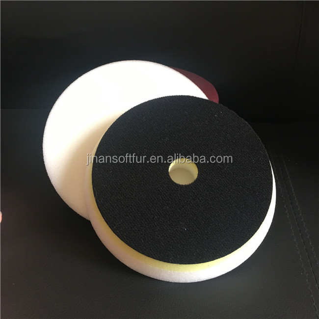 6inch white heavy foam Sponge Cutting Polishing Pad